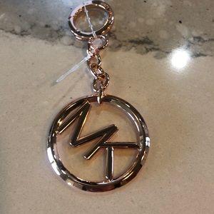 Rose Gold Michael Kors Keychain 💗